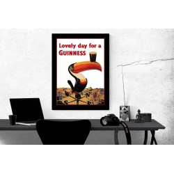 Lovely Day for a Guinness Vintage Advertisement Collectable Glossy Poster