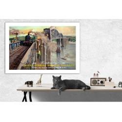 Railway Vintage Poster...