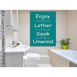bathroom rules loveartsandflowers