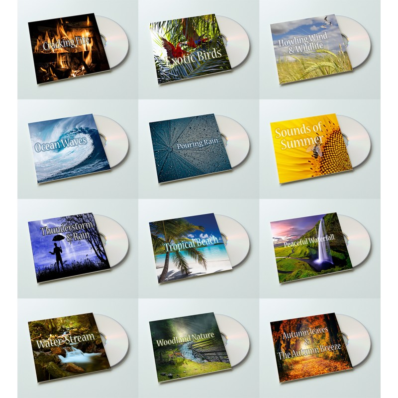 12 Hours of Natural Sounds MP3 Audios Instant Download