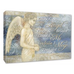 Guardian angel pure and bright guard me while I sleep tonight..