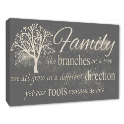 family like branches on a tree we all grown in a different direction yet our roots remain as one