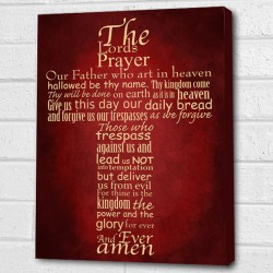 the lords prayer wall picture