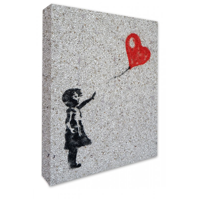 Banksy Girl With Red Balloon Graffitti Banksy Prints