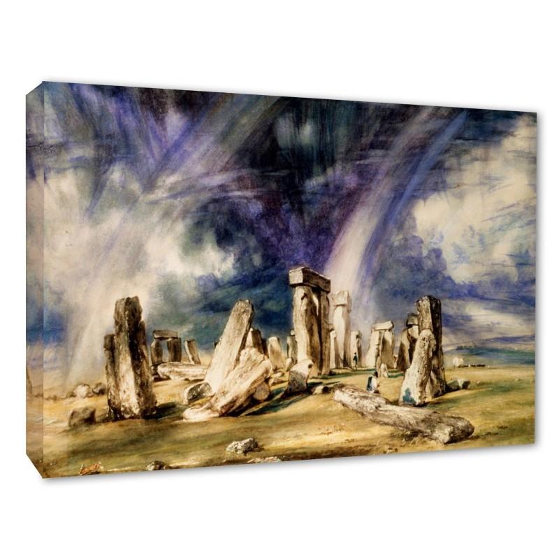 John Constable Picture Stonehenge 1835 Fine Art Wall Canvas Prints
