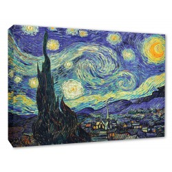 Vincent Van Gogh Starry Night Wall Canvas Print