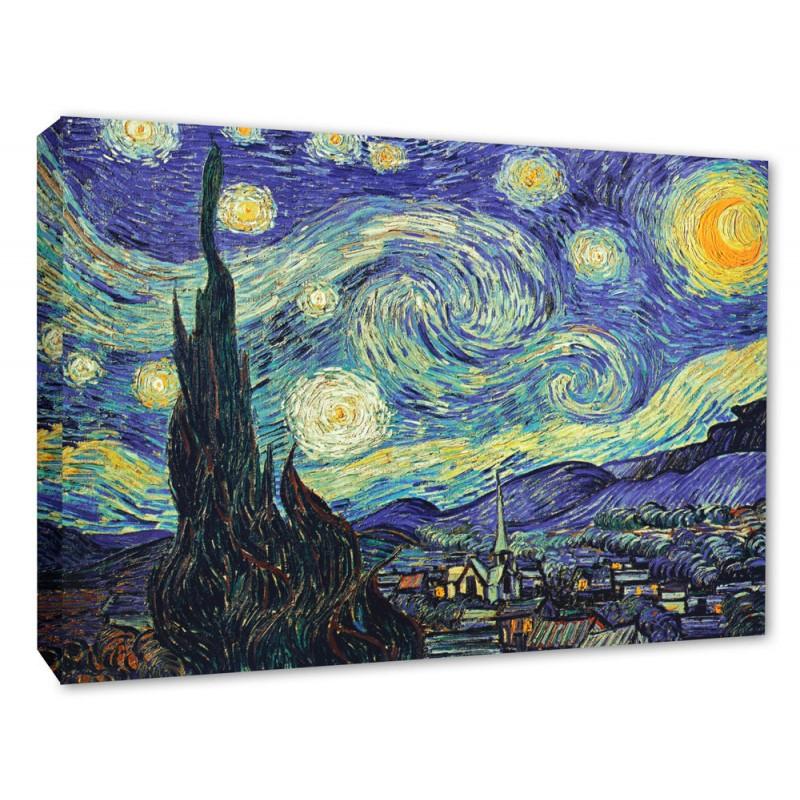 Vincent Van Gogh Starry Night Wall Canvas Print
