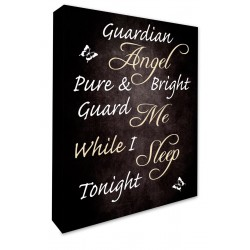 angel quote guardian angel pure and bright guard me while i sleep tonight