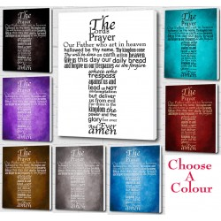 The Lords Prayer Wall Art...