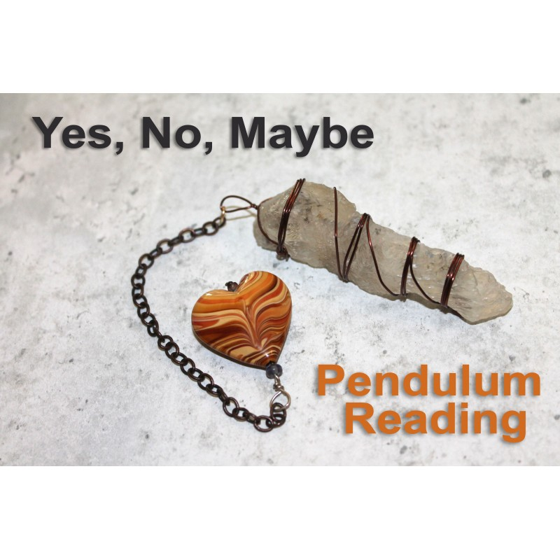 Psychic Pendulum Reading Yes or no Answer Sent Same Day