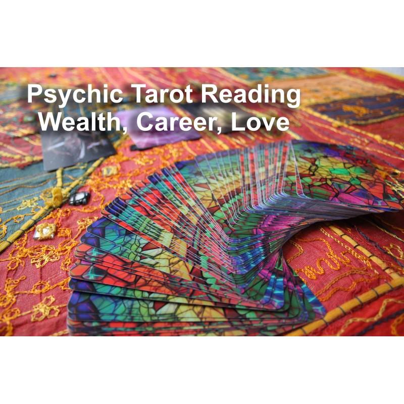 Psychic tarot reading job and career