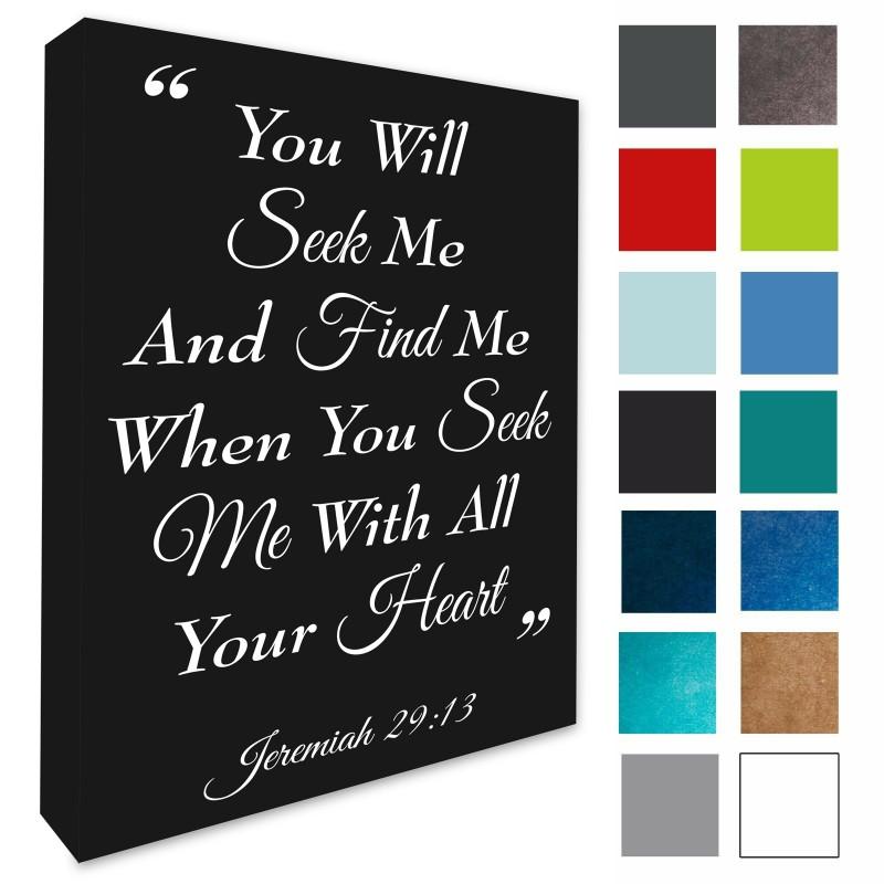 Jeremiah 29:13 Biblical Scripture Picture