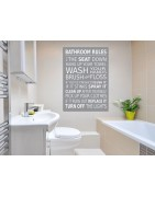 Bathroom Wall Canvas Prints