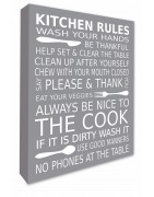 Kitchen Wall Canvas Prints