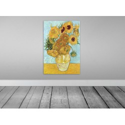 Van Gogh Sunflowers Satin Posters